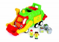 Flip 'n' Tip Fred – recycling truck WOW Preschool Toddler