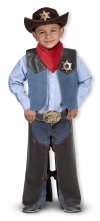 Cowboy Costume by Melissa and Doug