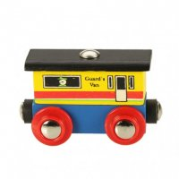 Bigjigs Rail Guards Van