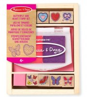 Butterfly and Heart Stamp Set