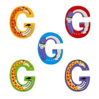 Wooden Upper Case Letter G