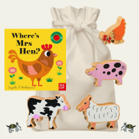 Where's Mrs Hen Story Sack