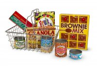 Shopping Basket - Play Food Set