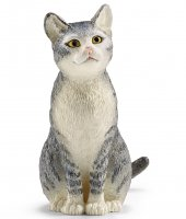 Cat Sitting Schleich Farm Animal