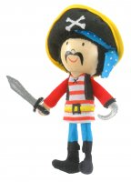 Stripes Pirate Finger Puppet