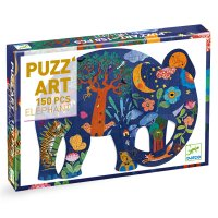 Puzz'Art 150 Piece Elephant Jigsaw