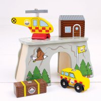 Bigjigs Rail Mountain Rescue