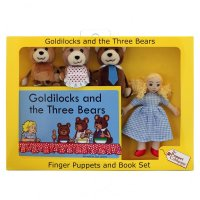 Goldilocks and the 3 Bears - Finger Puppet Set