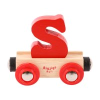 Letter S - Bigjigs Rail Name
