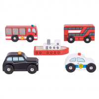 City Vehicles - Bigjigs Rail
