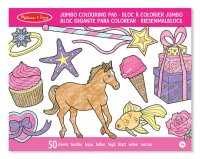 Colouring Pad - Horses, Hearts, Flowers & more