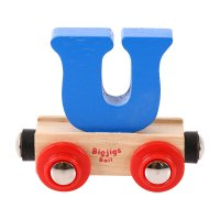 Letter U - Bigjigs Rail Name