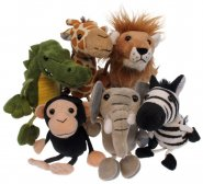African - Finger Puppets - Set of 6