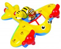 Johnny Jungle Plane Wow Pre School / Toddler Toy