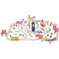 Bigjigs Rail - Transport Train Set