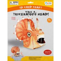 Triceratops 3D Mask Craft Kit