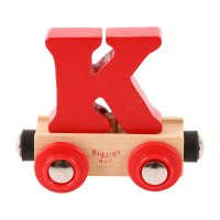 Letter K - Wooden Name Train