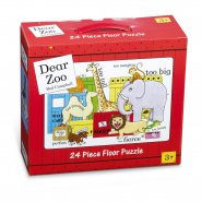 Dear Zoo 24 Piece Floor Puzzle