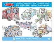 Colouring Pad Vehicles
