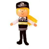 Police Woman Finger Puppet