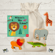 Where's Mr Lion Story Sack