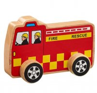 Chunky Wooden Toy Fire Engine