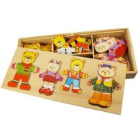 Bear Family Wooden Toy - Bigjigs Toys