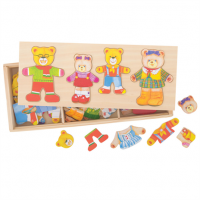 Bear Family - Wooden Toy
