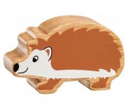 Natural Wood Colourful Hedgehog
