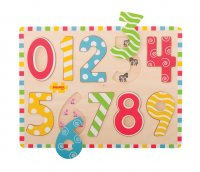 123 Wooden Number Jigsaw