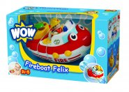 Fire Boat Felix Bath and Floor Toddler Toy