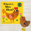 Where's Mrs Hen with Finger Puppet