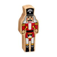 Natural Wood Colourful Nutcracker
