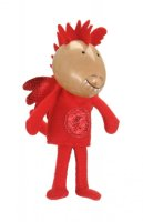 Red Dragon Finger Puppet