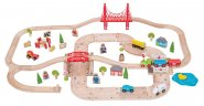 Bigjigs Rail - Rural Road and Rail Set