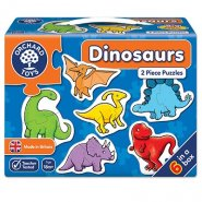 Dinosaurs Two Piece Puzzles