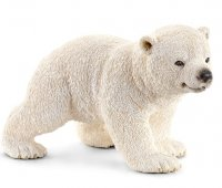 Polar Bear Cub Walking - Schleich
