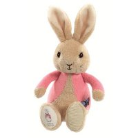 Flopsy Rabbit Bean Rattle Baby Toy