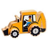 Chunky Wooden Toy Digger