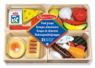 Food Groups Wooden Play Food