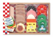 Wooden Sandwich Play Food Set