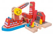 Bigjigs Rail Fire Sea Rescue