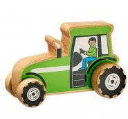 Chunky Wooden Toy Tractor