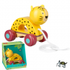 Jungle Animals Leopard Pull Along