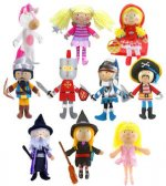 Fiesta Crafts Finger Puppets