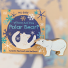Where are you Polar Bear? with wooden figure