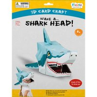 Shark 3D Mask Craft Kit