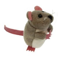 Grey mouse - Finger Puppet
