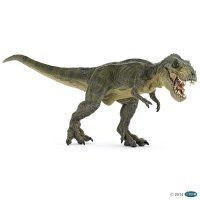 Green Running T-Rex