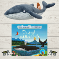 Snail and the Whale Book and Soft Toy